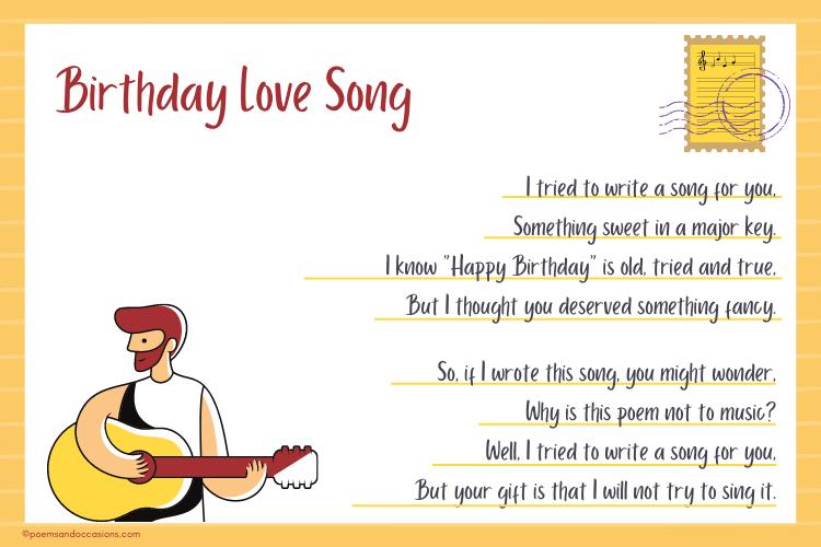 Birthday Love Song