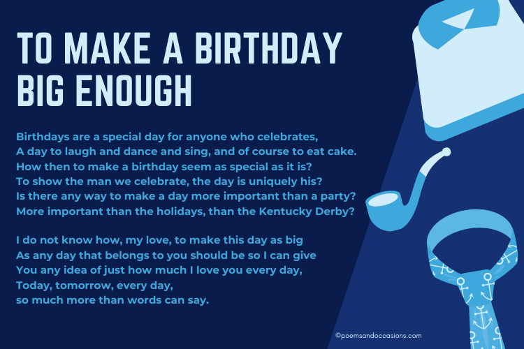 Make a Birthday Big Enough