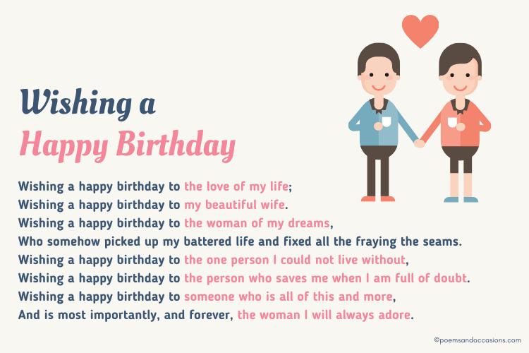 happy birthday love wish