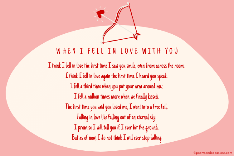 when I Fell in Love with You