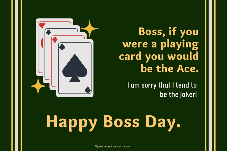 Boss would be the Ace