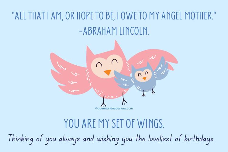 Happy Birthday Angel Mother