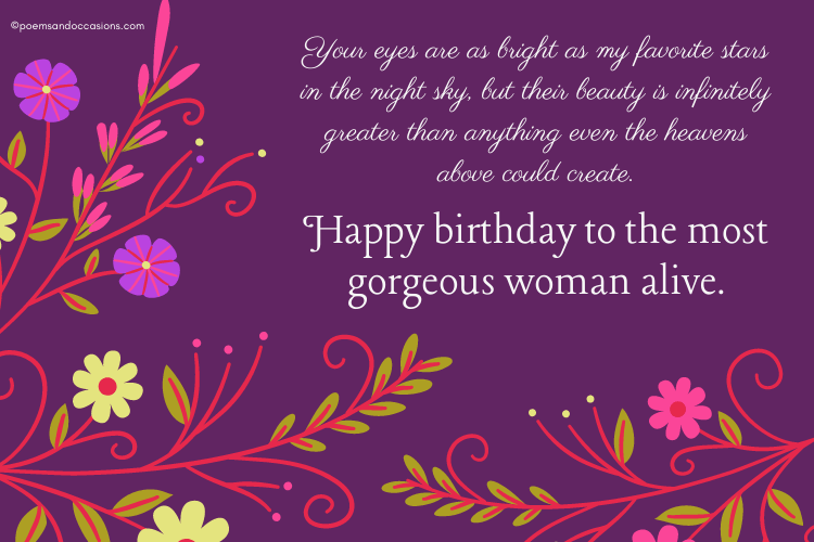 Happy Birthday Wishes For Her Romantic