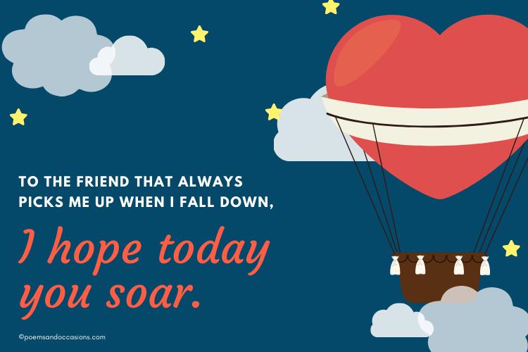 I hope today you soar