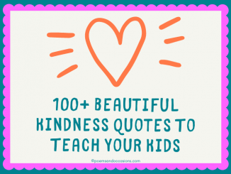 Kindness Quotes for Kids