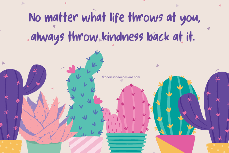 Sweet kindness quotes for kids