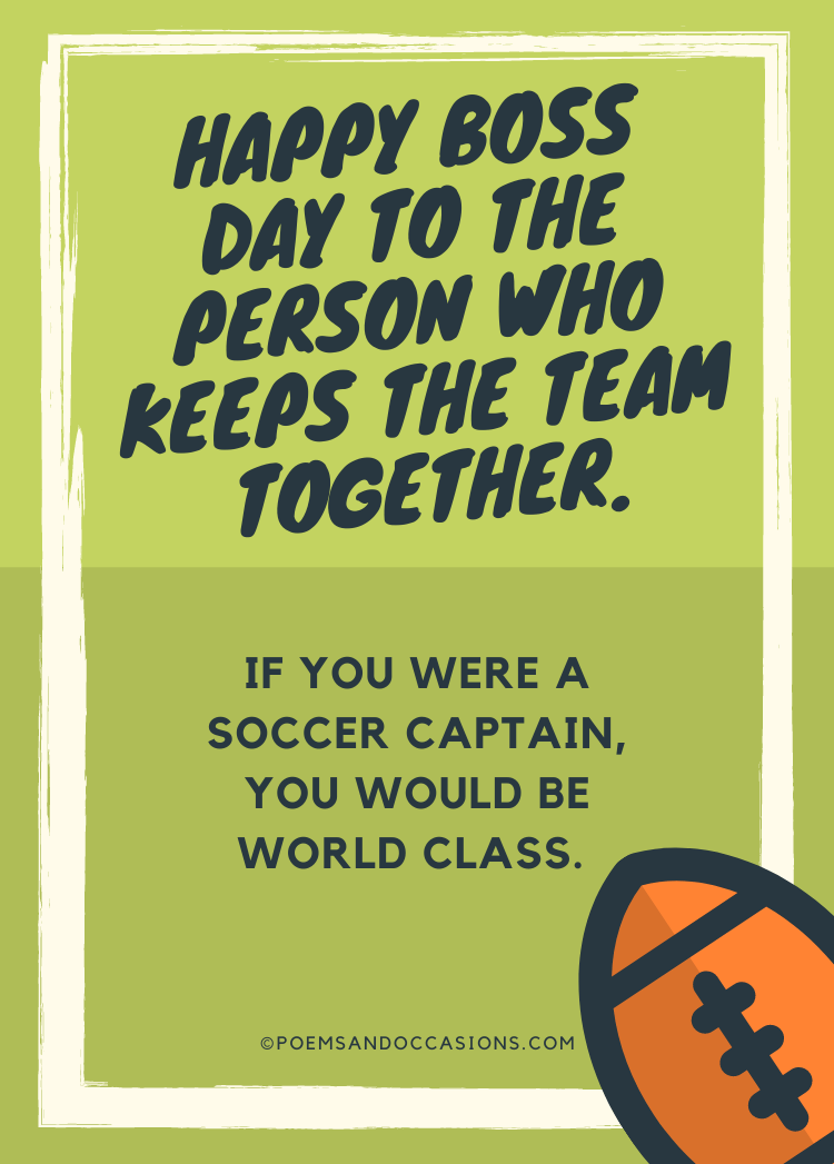 The person who keeps the team together
