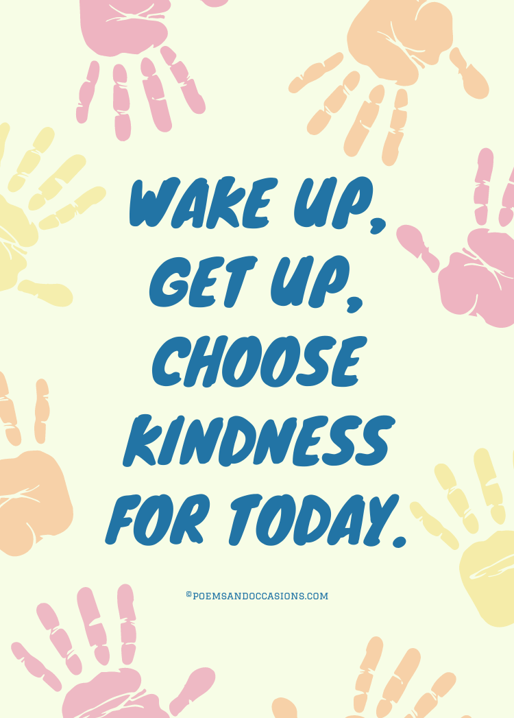 choose kindness for today