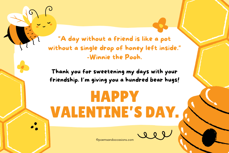cute happy valentines day friend quotes