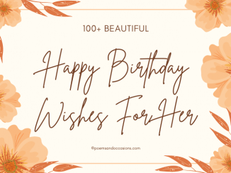 happy birthday wishes for her