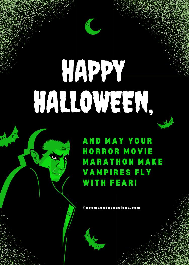 horror movie marathon Halloween