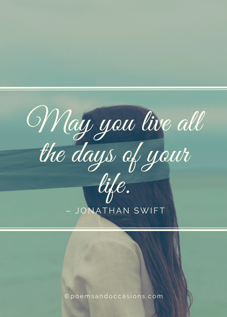 live all the days of your life