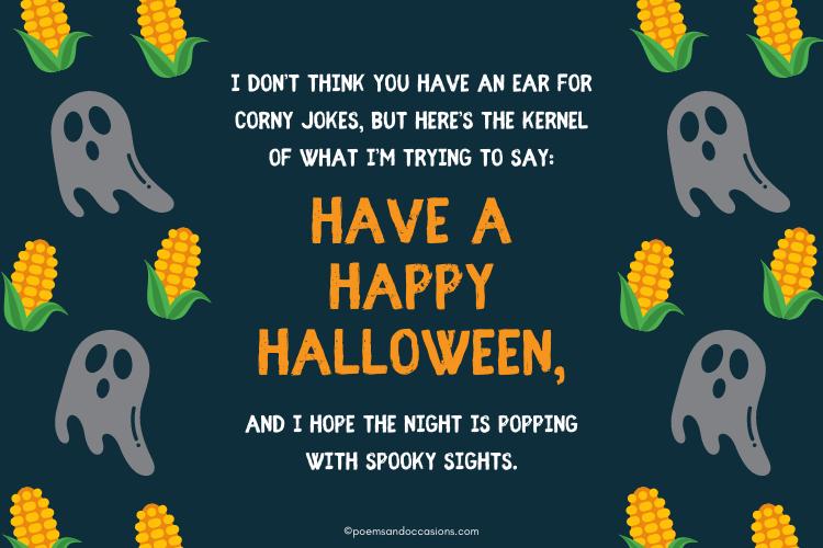 spooky Halloween greetings