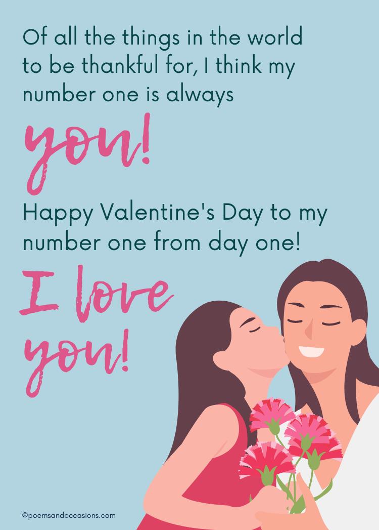 Happy Valentines day mother