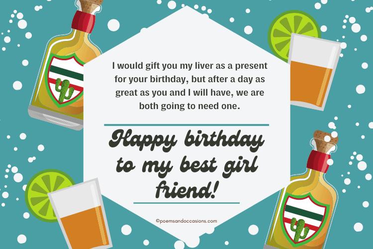 Happy birthday to my best girl friend