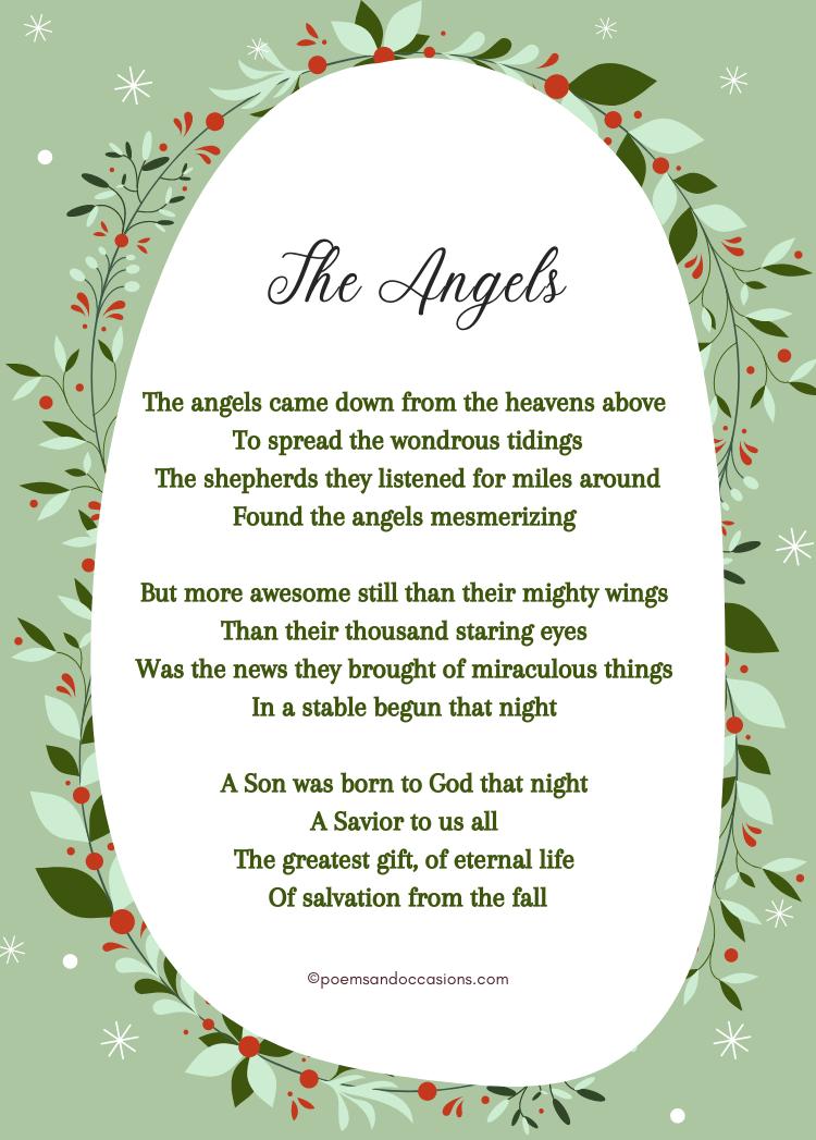 Short Religious Christmas Poems