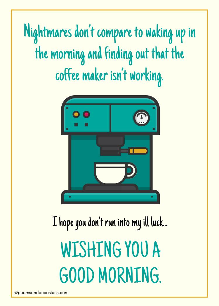 good morning friends coffee