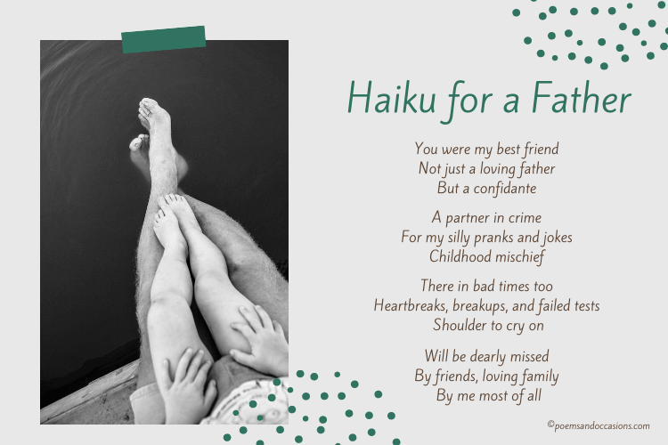 Haiku for a father