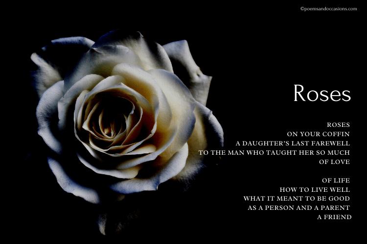 Roses Funeral Poem