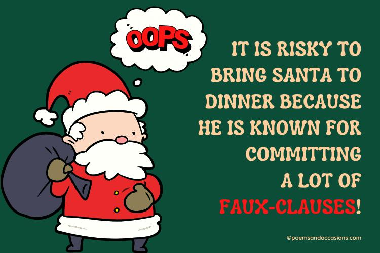 Santa puns