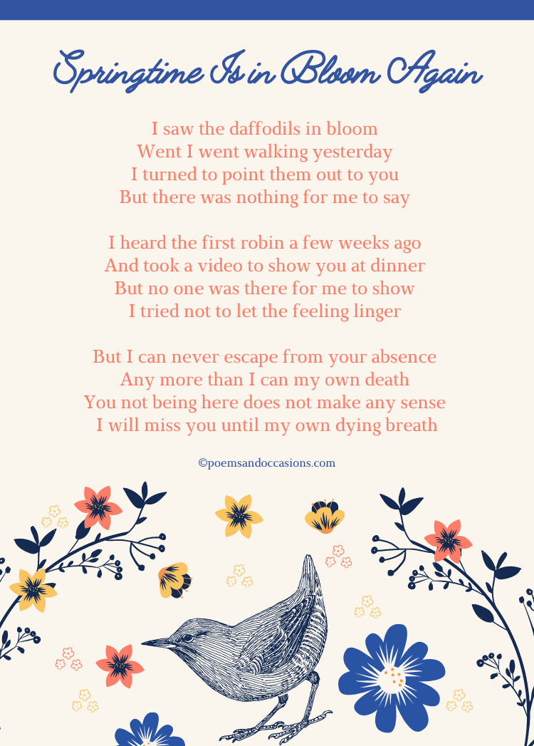 beautiful funeral poems for dad