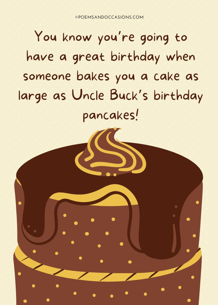 big funny birthday pancakes