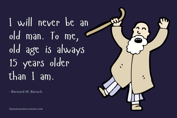 funny birthday quotes old man