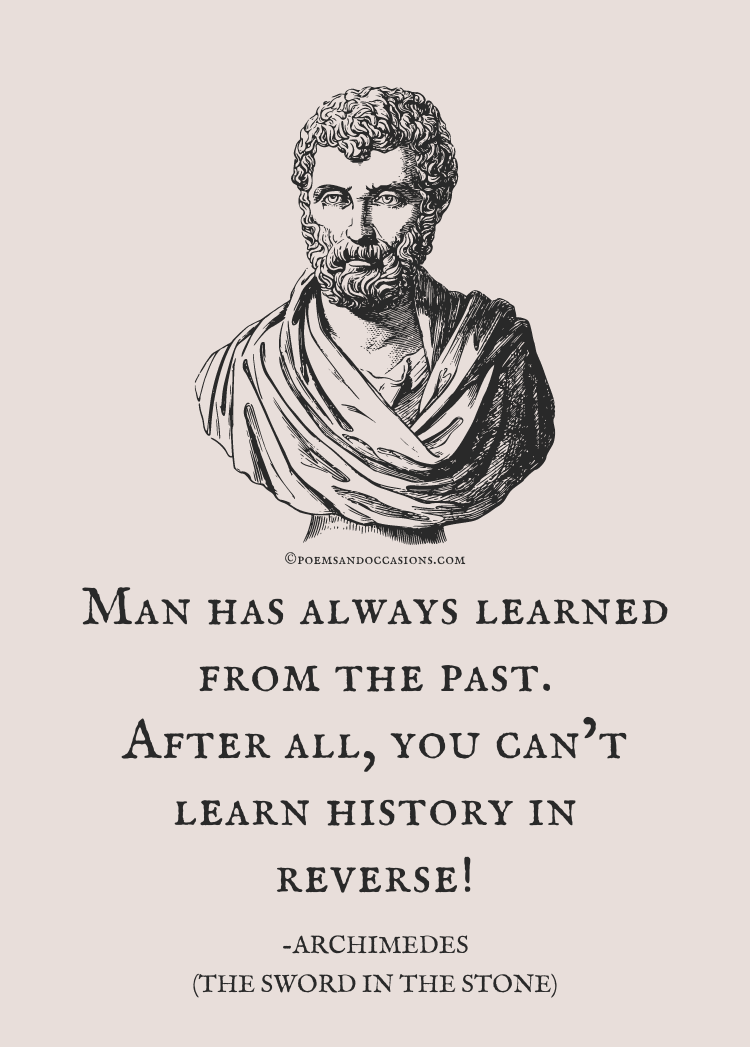 Archimedes quote