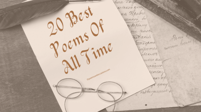 Best Poems of All Time