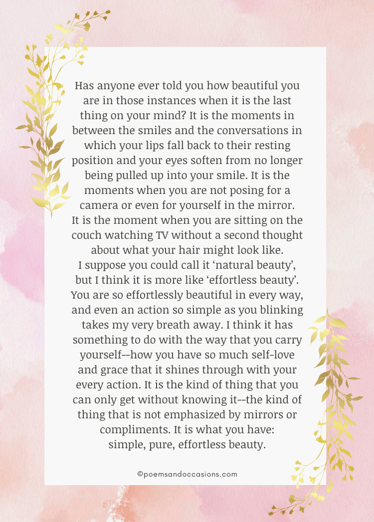 Long Paragraphs To Your Girlfriend
