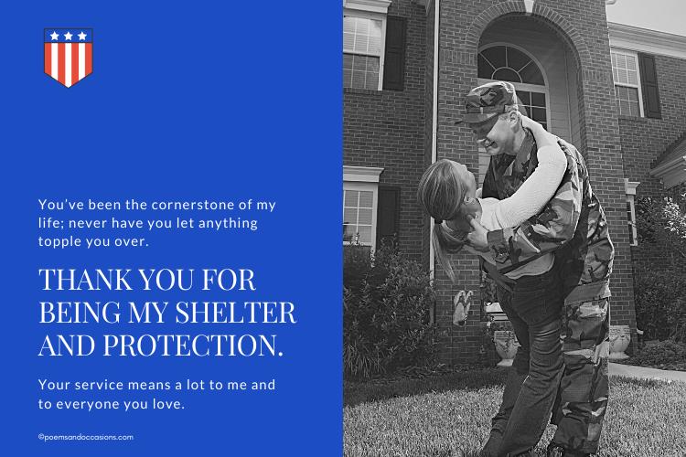 Thank you to a Veteran You Love