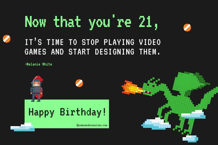 funny 21st birthday quotes