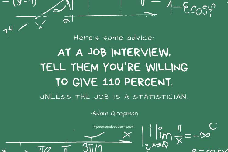 funny job advice