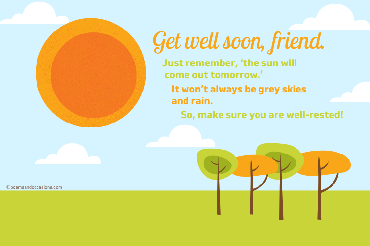 get well wishes for friend