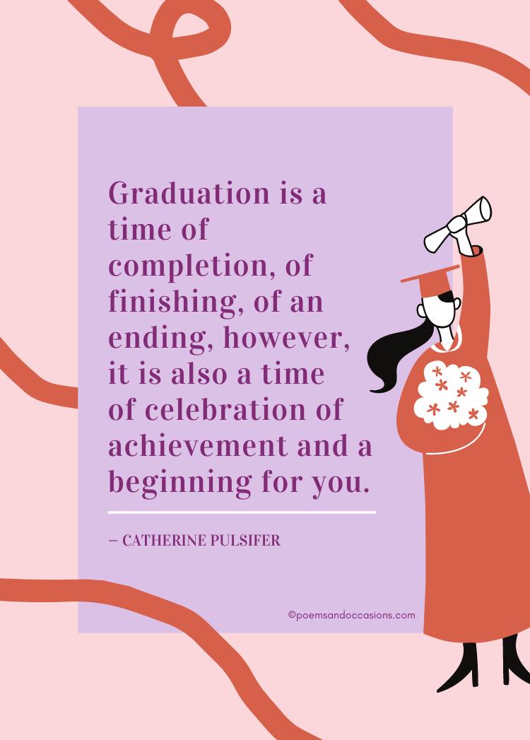 graduation is a celebration