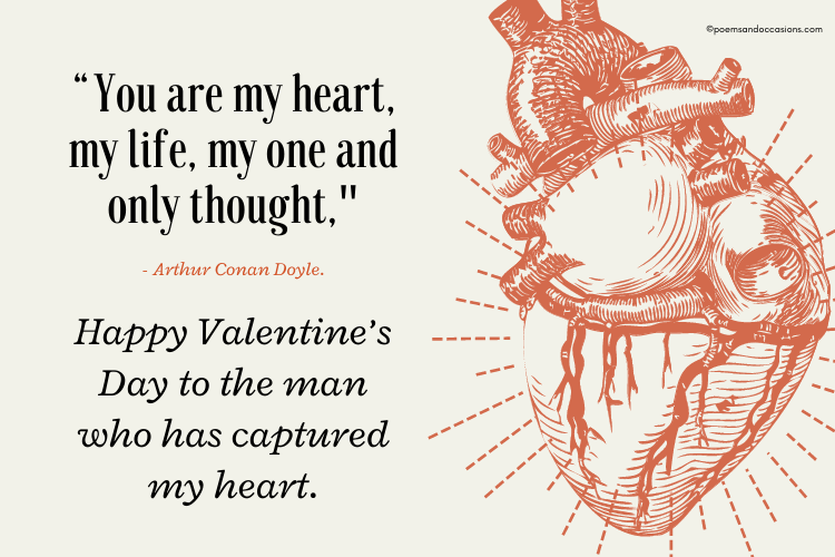 valentine day message for him husband