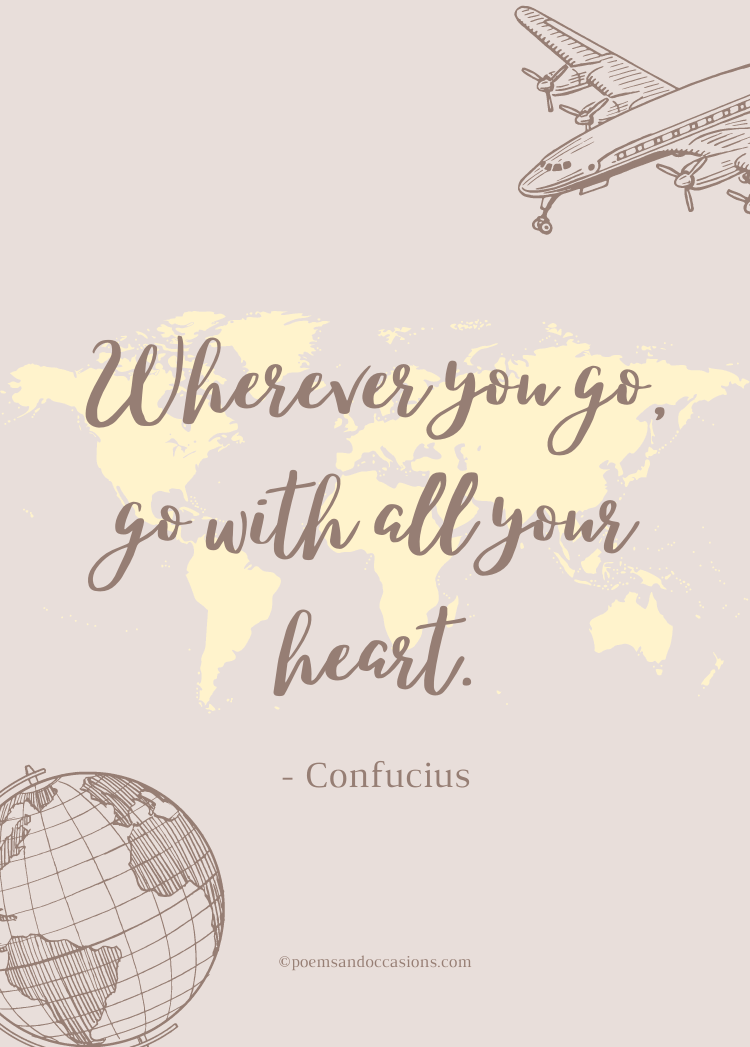 wherever you go quote