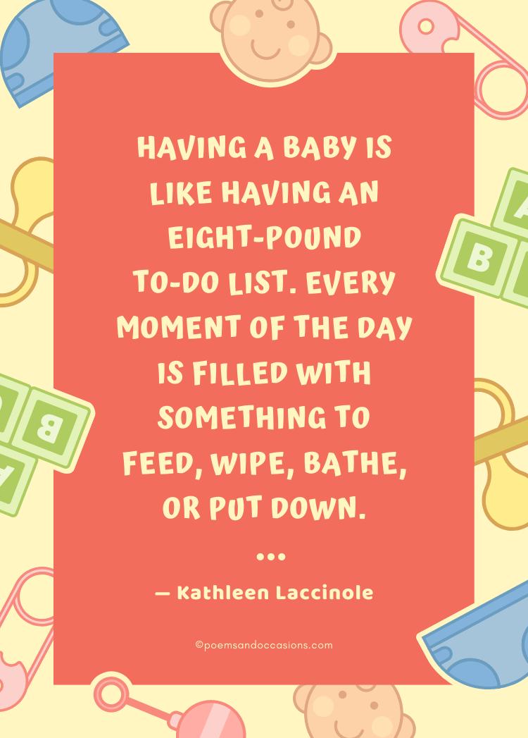 Funny Newborn Baby Congratulations Quotes