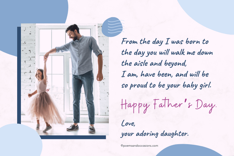 Happy Father's Day Messages From Daughter