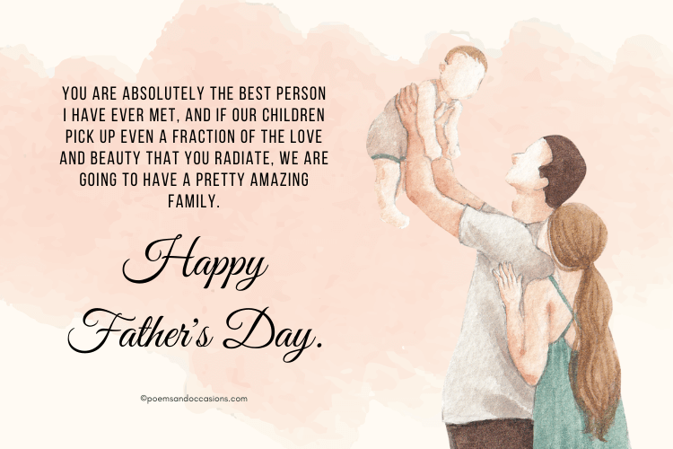 Happy father's day messages for your husband