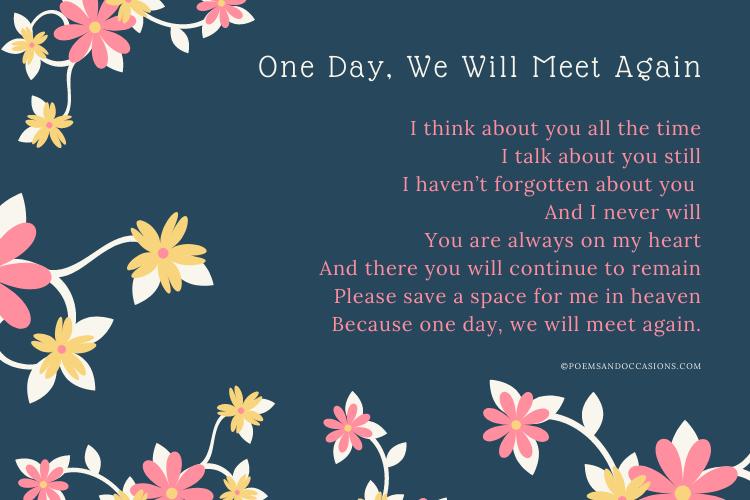 Short funeral poems