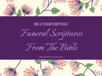 funeral scriptures