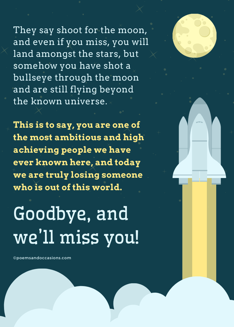 message for coworker on their last day