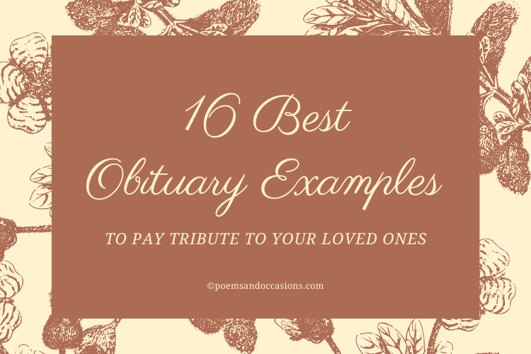 obituary examples