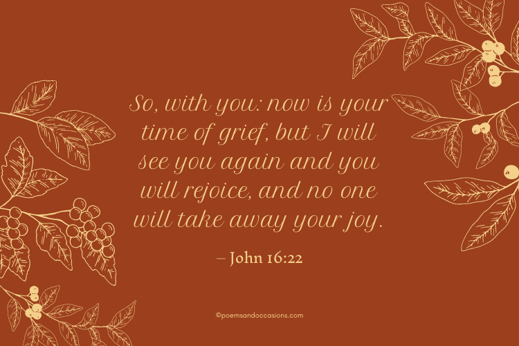 your time of grief