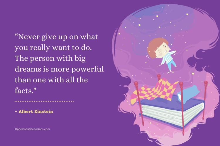 Albert Einstein quotes for kids