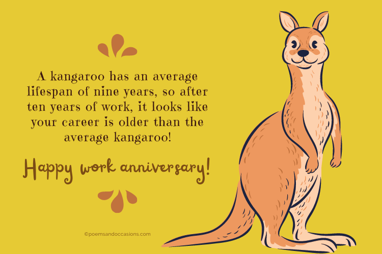 Milestone Work Anniversary Messages