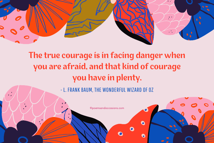 courage sayings for kids