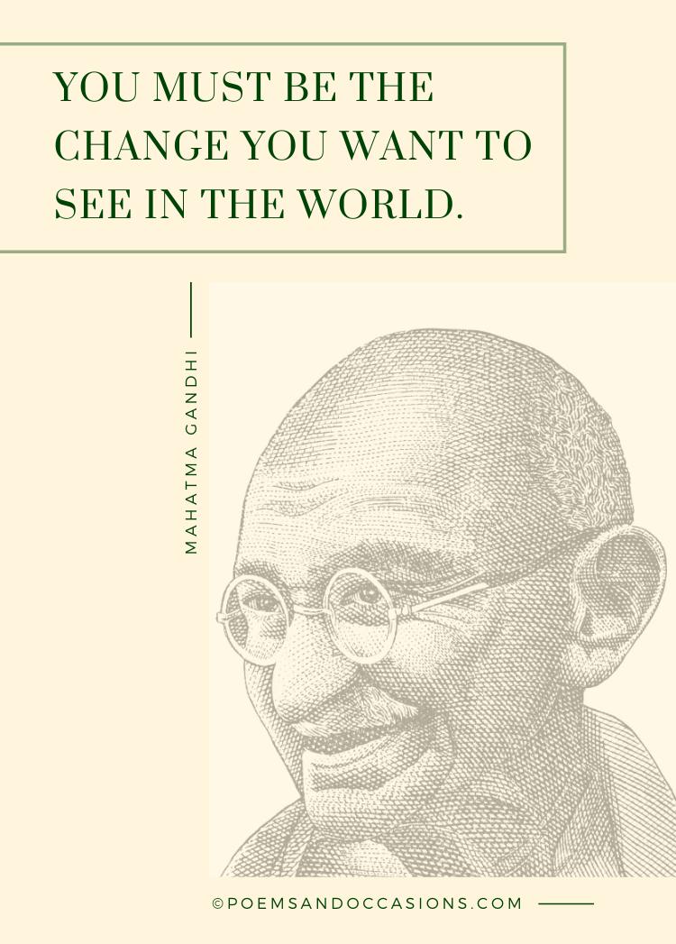 mahatma gandhi quotes for kids