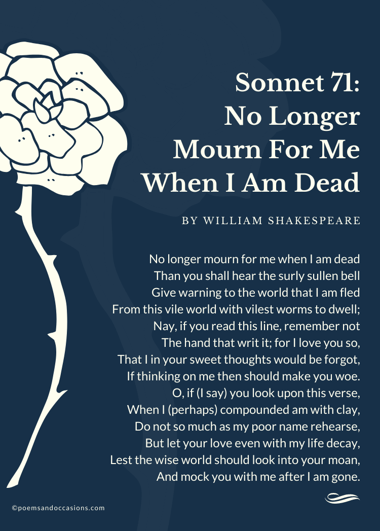 shakespeare sonnet about death